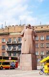 拉脱维亚步枪兵纪念碑在里加,拉脱维亚 免版税库存照片