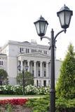 拉脱维亚语国家歌剧院 免版税图库摄影