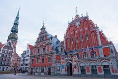 拉脱维亚里加 库存照片