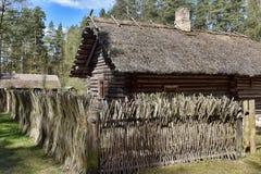 拉脱维亚露天民族志学博物馆在里加 免版税库存图片