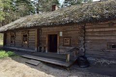 拉脱维亚露天民族志学博物馆在里加 免版税图库摄影