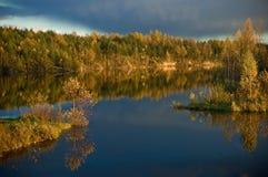 拉脱维亚风景 库存图片