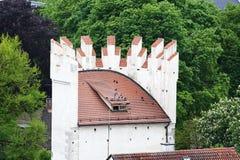 拉芬斯堡是一个城市在德国 免版税库存图片