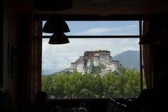 拉萨宫殿potala 免版税库存图片