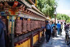 拉萨西藏中国 库存图片