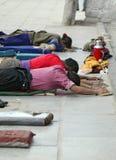 拉萨香客藏语 免版税图库摄影