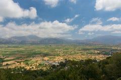 拉西锡州高原-希腊山 免版税库存照片
