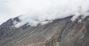 拉达克,印度山风景  免版税图库摄影