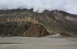 拉达克,印度山风景  库存照片