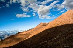 拉达克,印度山  库存图片