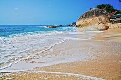 拉迈海滩,酸值苏梅岛,泰国 免版税库存照片