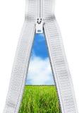 拉链 免版税图库摄影