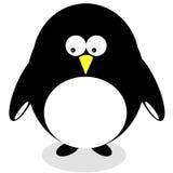 拉长的动画片企鹅 向量例证