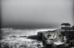 拉霍亚小海湾在圣地亚哥 免版税库存图片