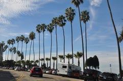 拉霍亚岸在圣地亚哥,加利福尼亚 免版税图库摄影