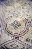 拉韦纳,意大利-从联合国科教文组织的1500 8月18日, 2015年-岁拜占庭式的马赛克在拉韦纳, I列出了圣徒Vitalis大教堂  免版税图库摄影