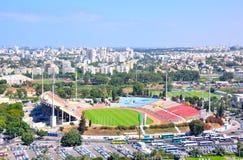 拉马干体育场,以色列 免版税库存照片