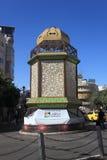 拉马拉自治市,亚西尔・阿拉法特广场 免版税库存照片