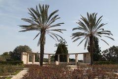 拉马特甘Hanadiv自然公园,以色列 免版税库存图片