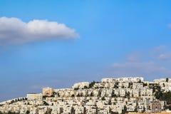 拉马特甘Shlomo邻里,耶路撒冷,以色列 库存照片