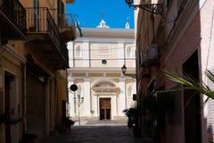 拉马达莱纳海岛,撒丁岛,意大利 库存图片