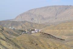 拉什哈巴德 在山的假期 库存图片