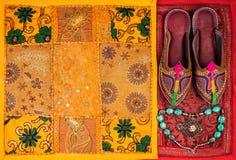 拉贾斯坦市场 免版税库存图片