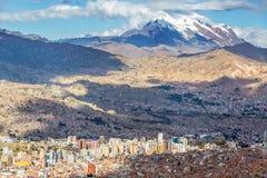 拉巴斯都市风景 图库摄影