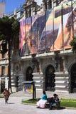 拉巴斯,玻利维亚香港大会堂  免版税库存图片