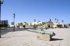 拉巴特王宫摩洛哥 免版税库存照片