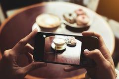 拍开胃早餐的照片 图库摄影