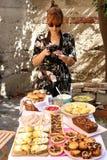 拍摄食物 免版税库存图片