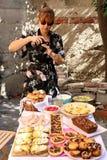 拍摄食物 免版税库存照片