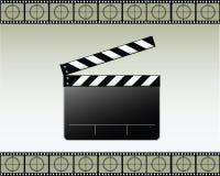 拍板电影向量 库存图片