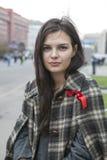 拒付在莫斯科2012年9月15日 免版税图库摄影