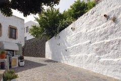 拔摩岛海岛希腊 免版税图库摄影