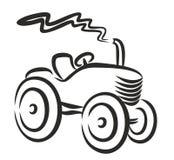 拖拉机商标 免版税图库摄影