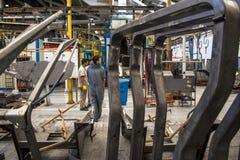 拖拉机工厂 免版税图库摄影