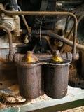 拖拉机柴油过滤器  免版税库存图片