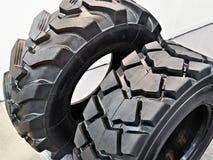 拖拉机的轮胎 免版税库存图片