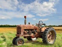 拖拉机葡萄酒 库存图片