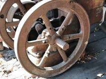 拖拉机轮子 免版税库存照片