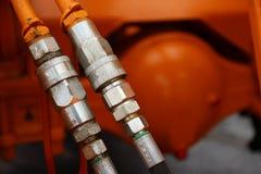 拖拉机零件,设备 免版税库存图片
