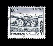 拖拉机,农业serie,大约1978年 免版税库存照片