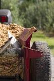 拖拉机 免版税库存照片