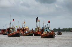 拖网渔船 库存照片