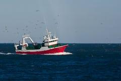拖网渔 库存图片