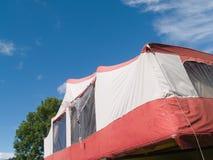 拖车帐篷 库存图片