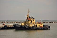 拖轮 刻赤海峡 2014年8月23日 库存照片