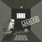 拘捕和拘留 皇族释放例证